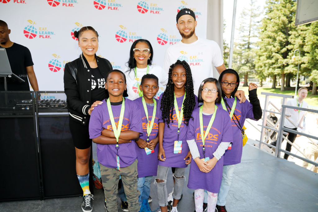 Stephen and Ayesha Curry Celebrate Launch Of Eat. Learn. Play. Foundation With Event