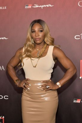 Serena Williams at the Sports Illustrated Fashionable 50 2019