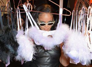 Rihanna Attends Savage X Fenty London Pop Up Shop