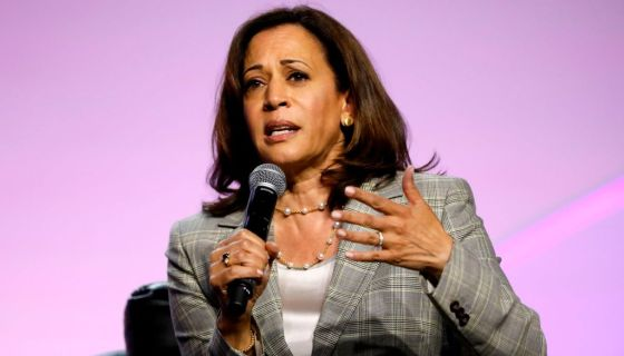 2020: Kamala Harris to Trump: Stop Being Mean to Ford
