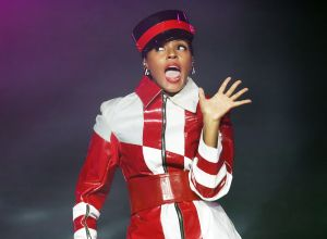 Janelle Monae Performing at Manchester Castlefield Bowl