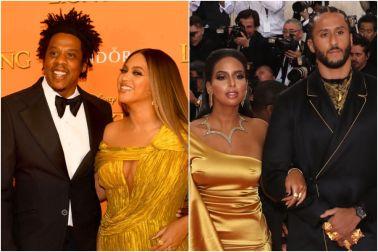 Jay-Z, Beyonce, Nessa Diab, Colin Kaepernick