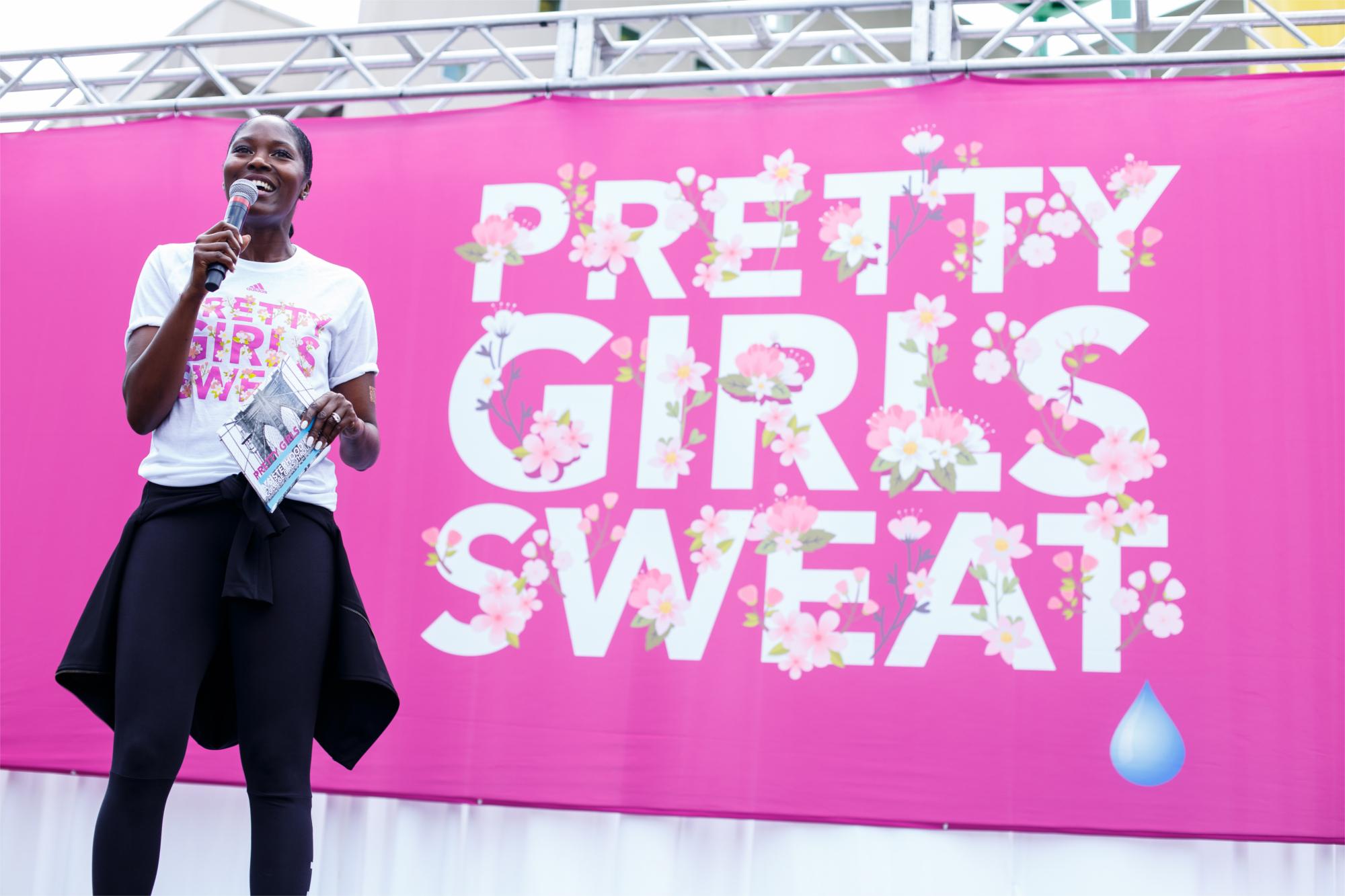PRETTY GIRLS SWEAT