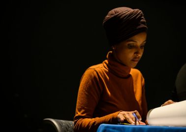 Rep. Ilhan Omar Hosts Community Forum On Immigration In Minneapolis