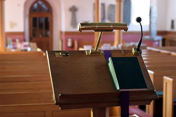Modern Church Pulpit