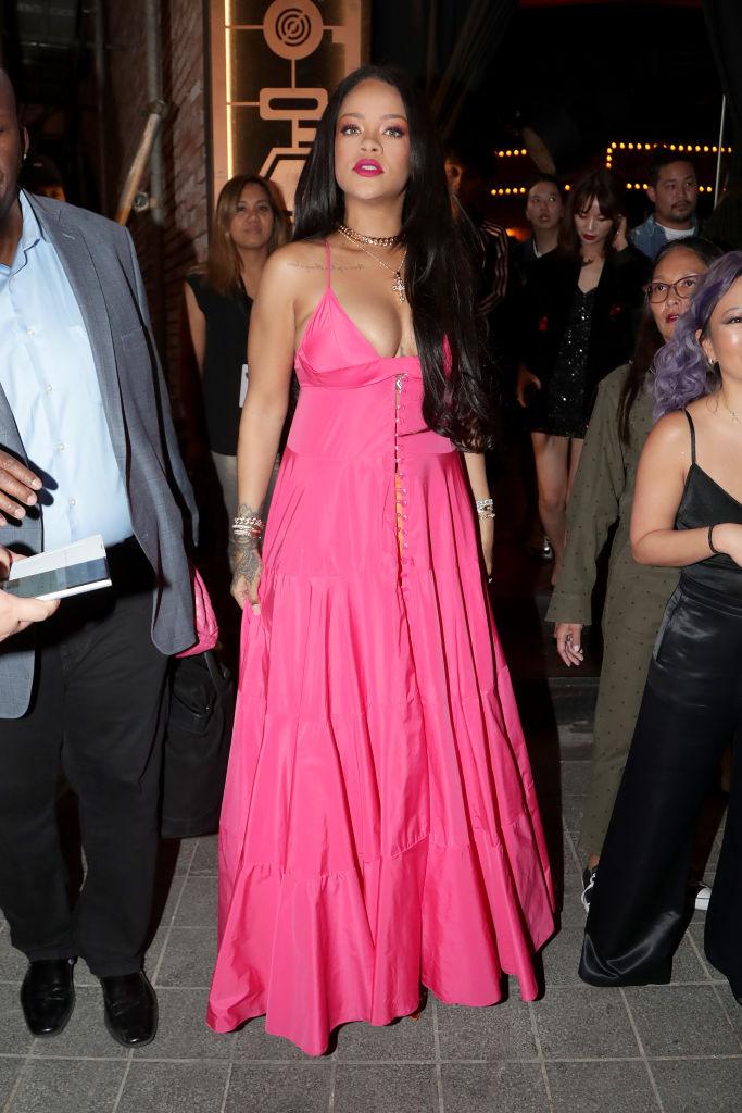 Rihanna Sighting In Seoul