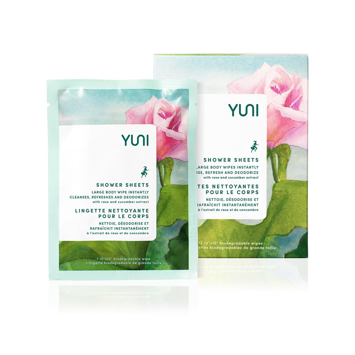 YUNI's rose cucumber sheets