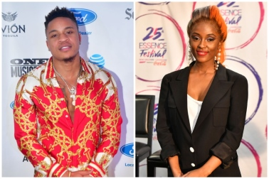 Rotimi and Vanessa Mdee