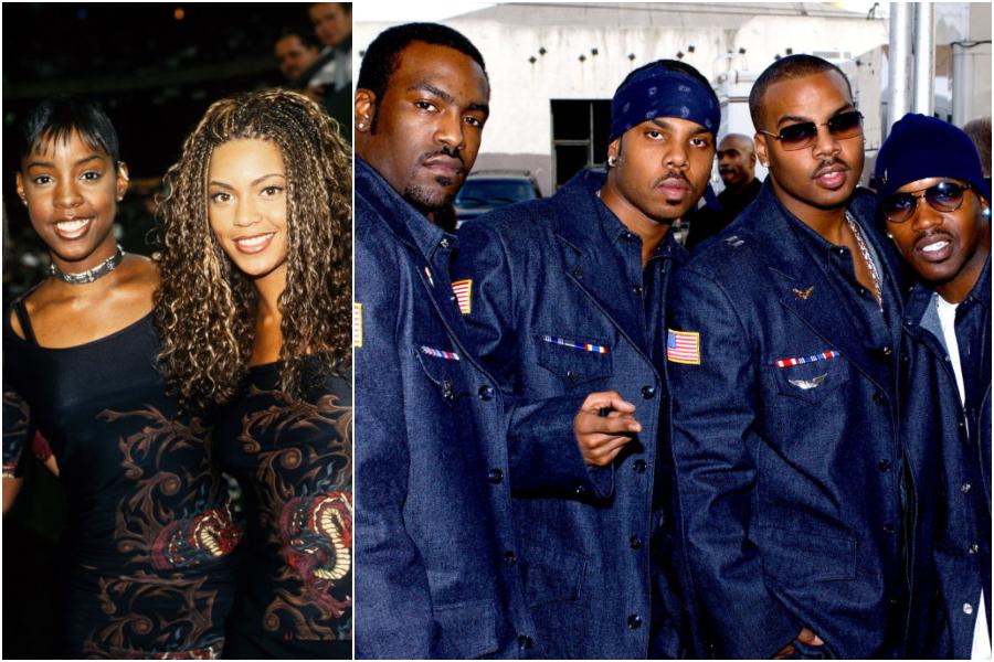 Destiny's Child and Jagged Edge