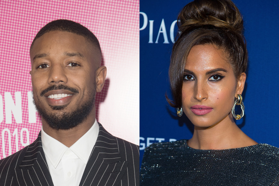Michael B Jordan and Snoh Aalegra