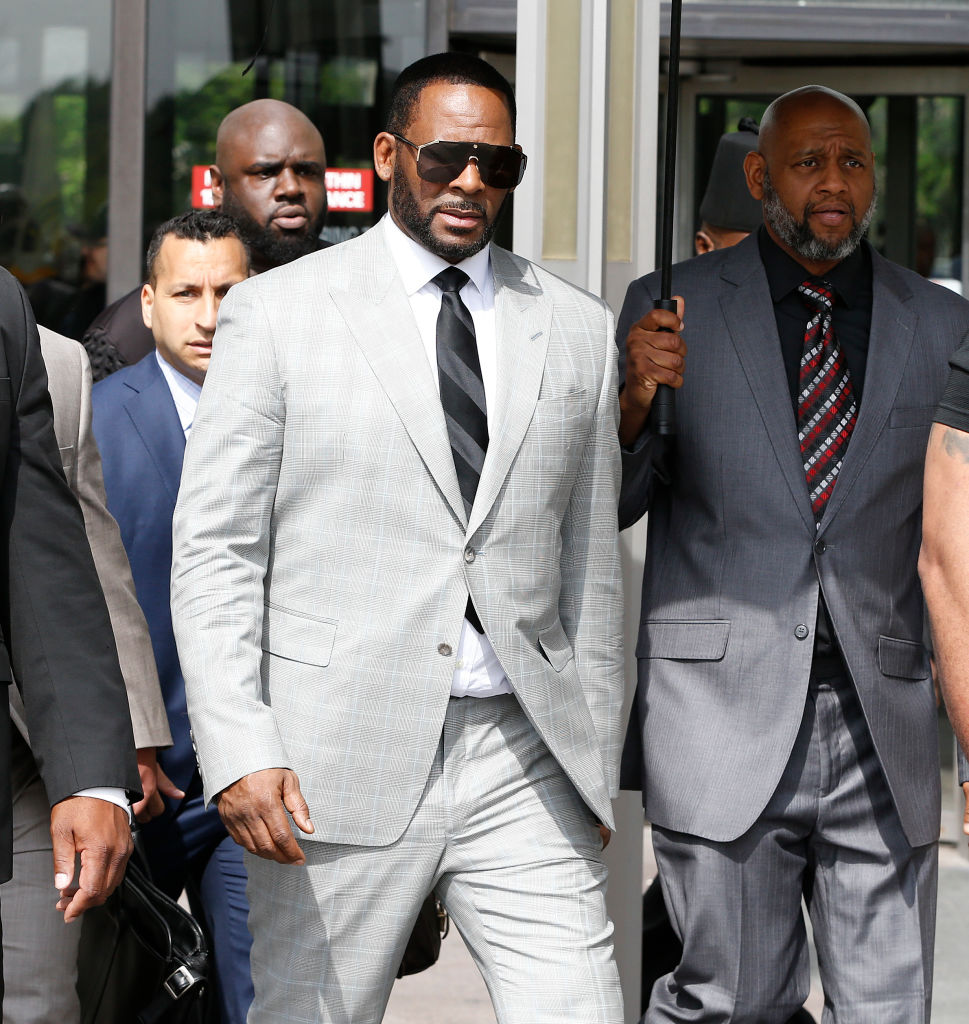 R. Kelly Appears In Court After Prosecutors Add Additional Felony Charges