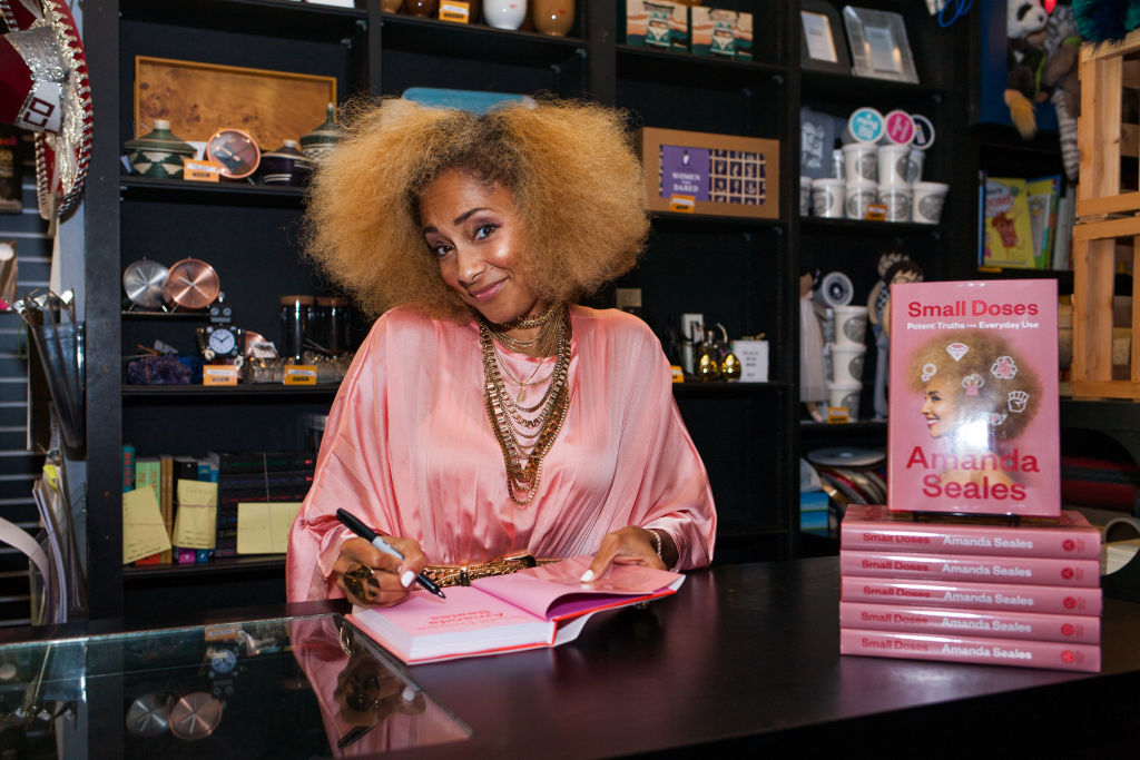 """Amanda Seales Celebrates New Book """"Small Doses: Potent Truths For Everyday Use"""""""