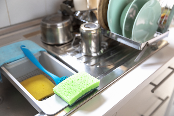 sanitizing and disinfecting
