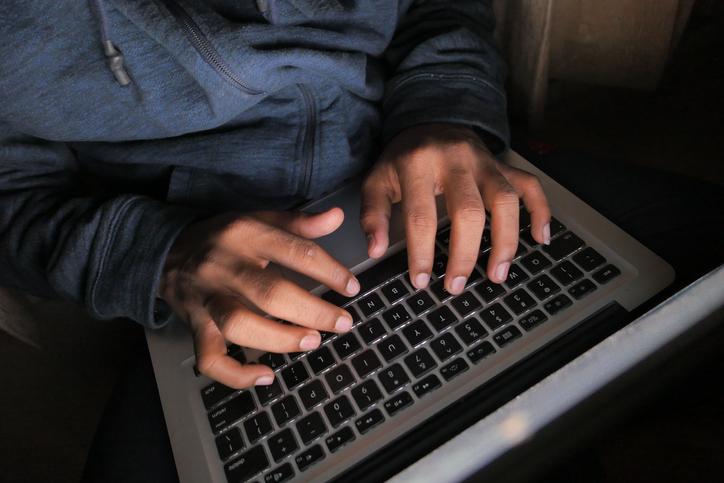 an internet stalker