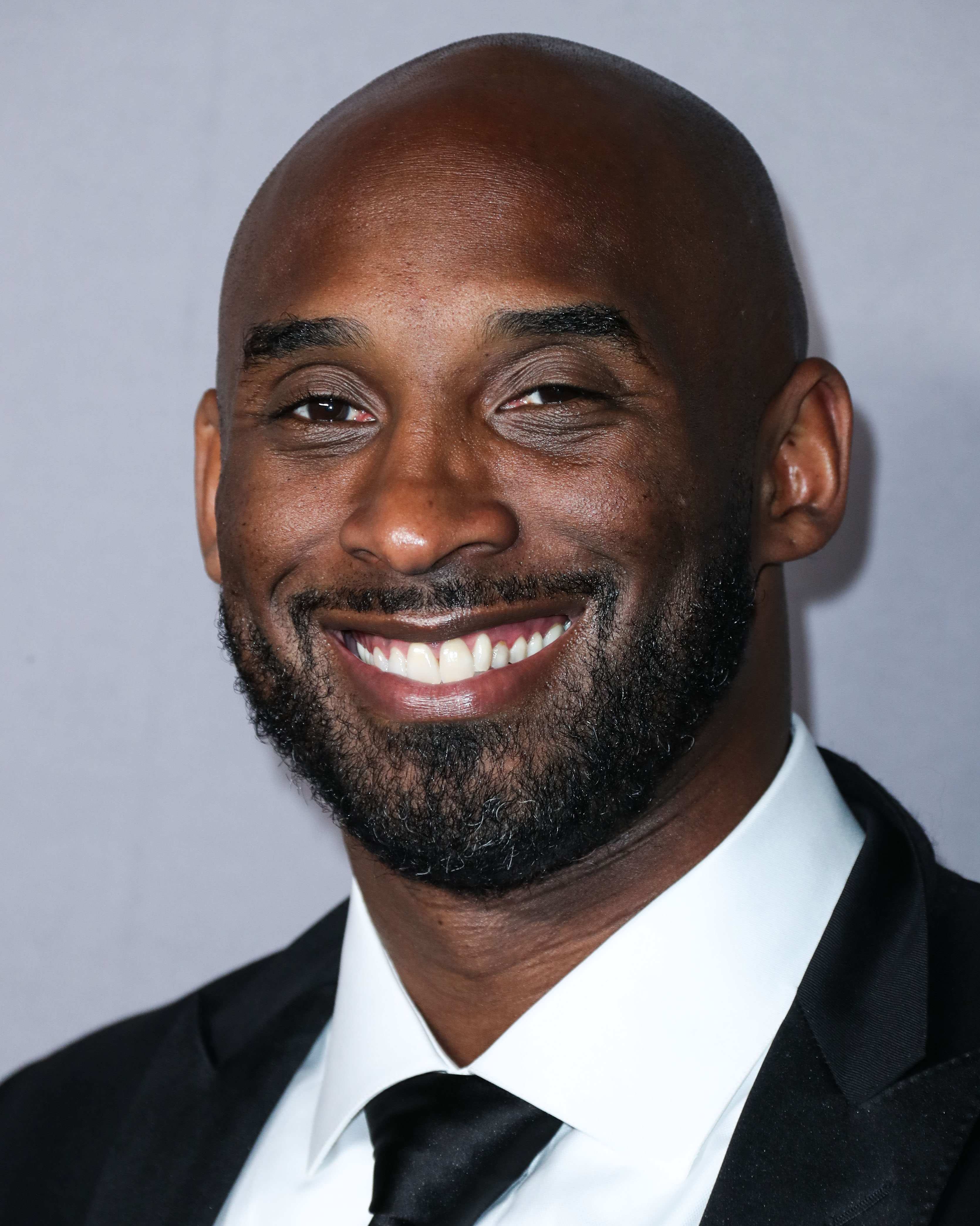 Kobe Bryant arrives at the 2019 Baby2Baby Gala held at 3Labs on November 9, 2019 in Culver City, Los Angeles, California, United States.