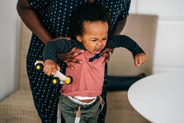 Tantrum in toddlers