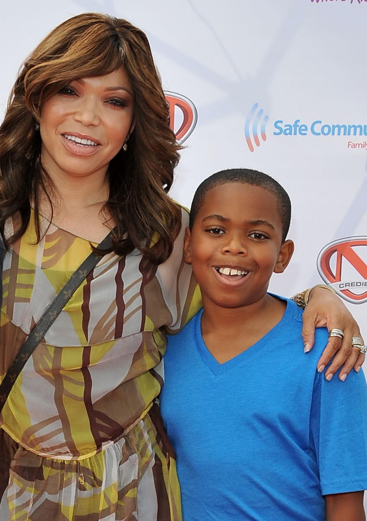 Tisha Campbell son