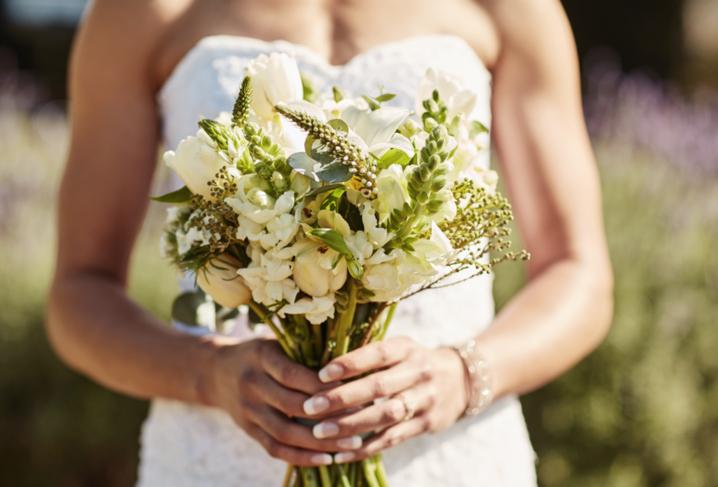 wedding day jitters bride