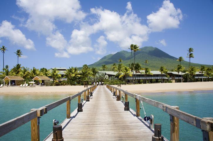 Pinneys Beach Nevis Caribbean