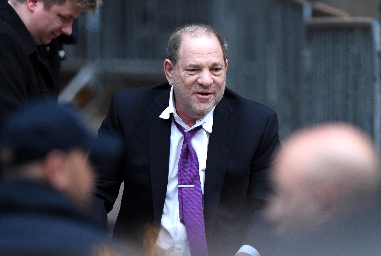 Harvey Weinstein at departures for Harve...