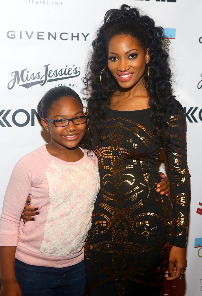 Trina and Erica Dixon Host Kontrol Magazine Fashion Jams: The Glamorous Life