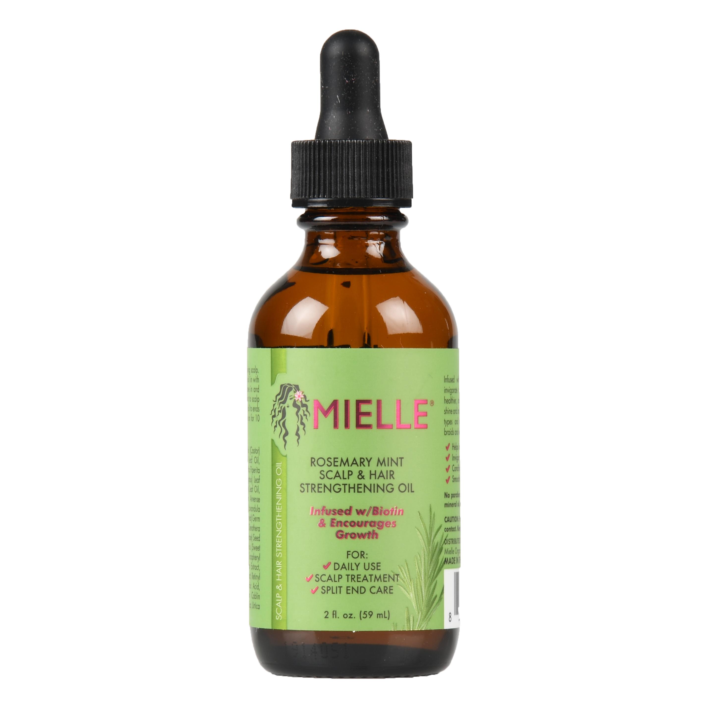 MIELLE Rosemary Mint Scalp & Hair Strengthening Oil