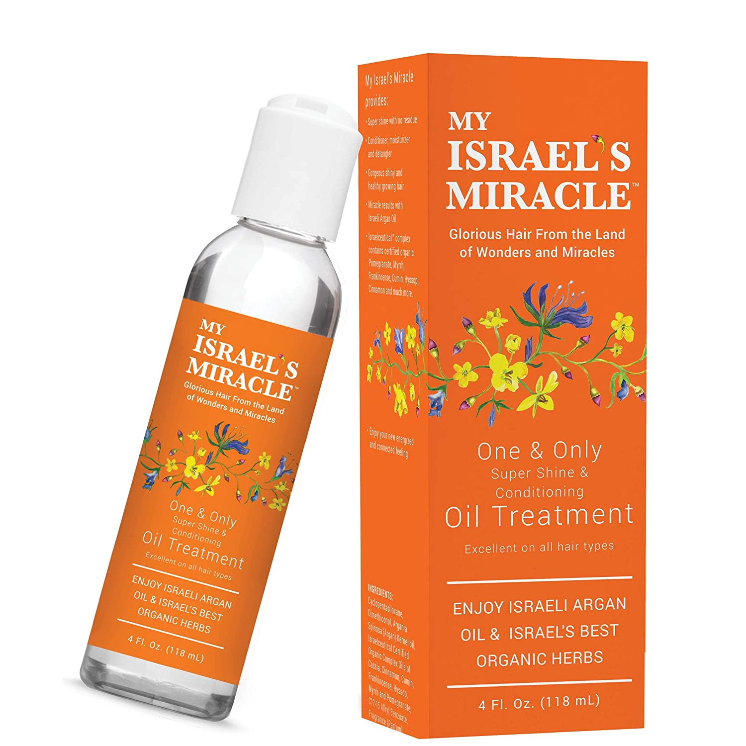 My Israel's Miracle One & Only Oil Treatment