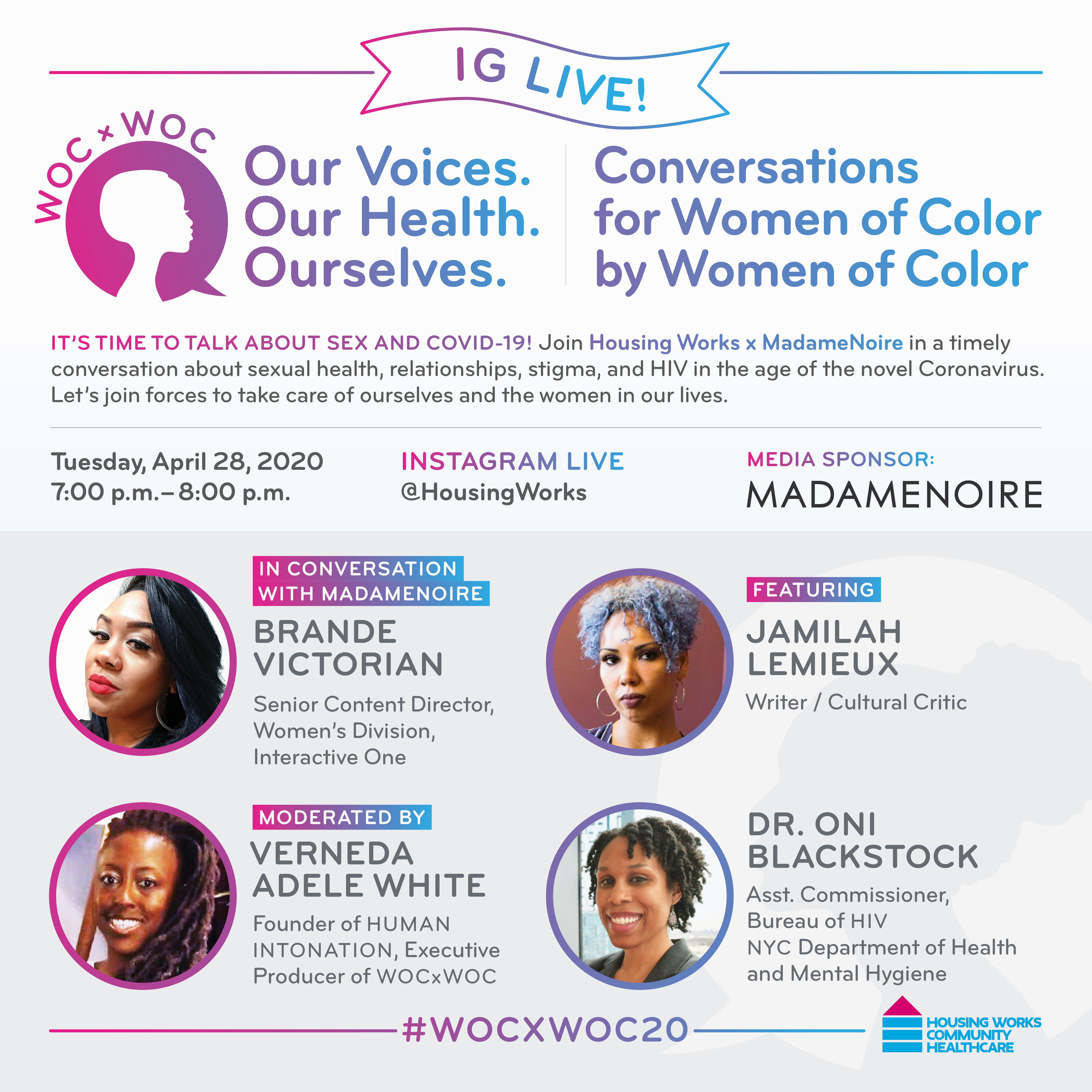 WOC x WOC: Our Voices, Our Health, Ourselves