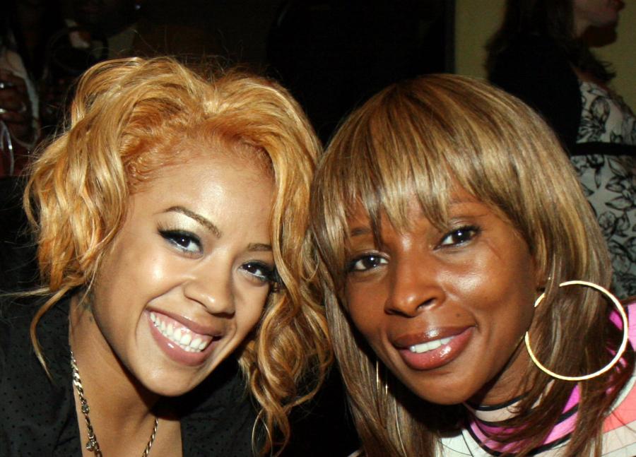 Keyshia Cole and Mary J. Blige