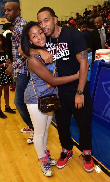 Ludacris daughters