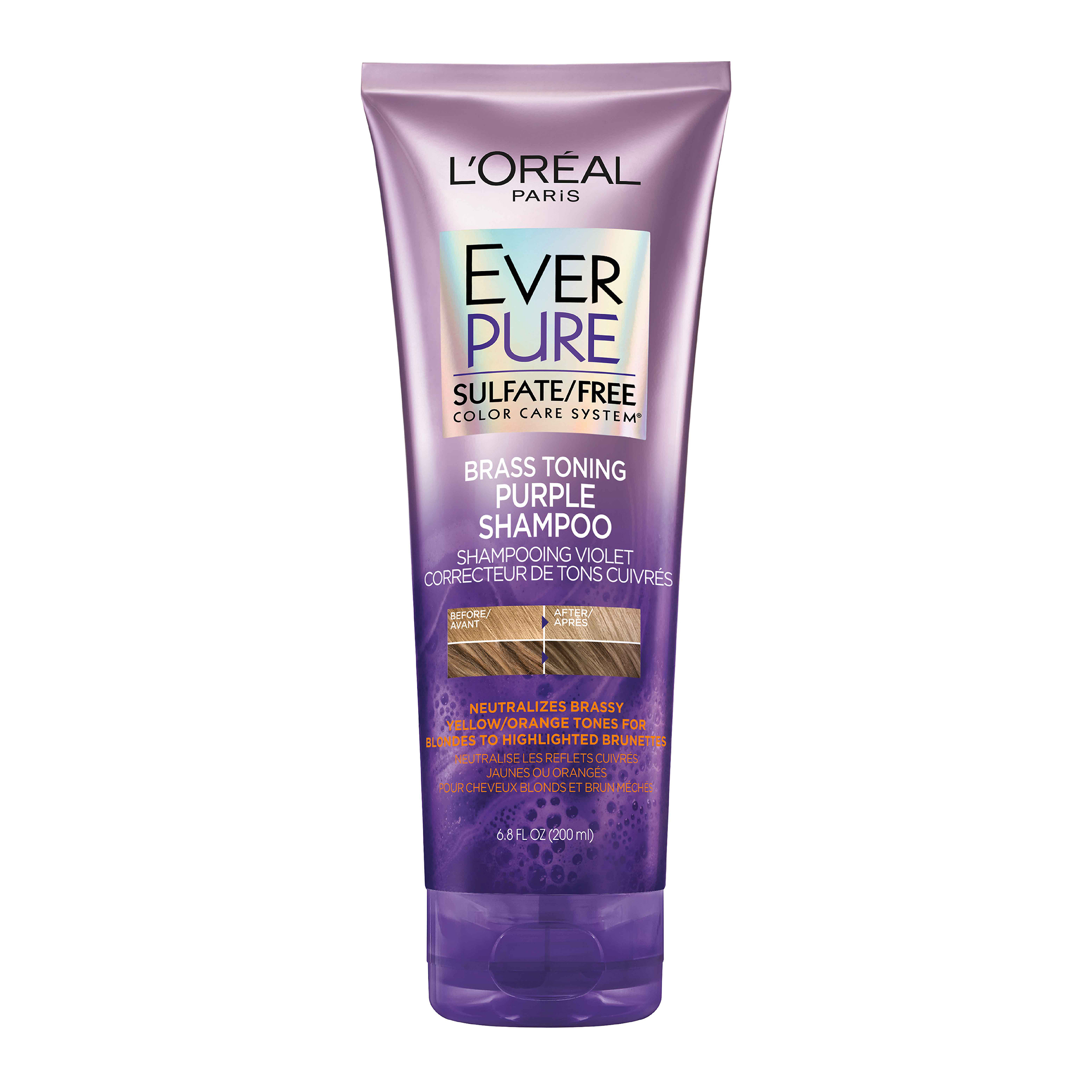 EVERPURE Brass Toning Purple Sulfate Free Shampoo
