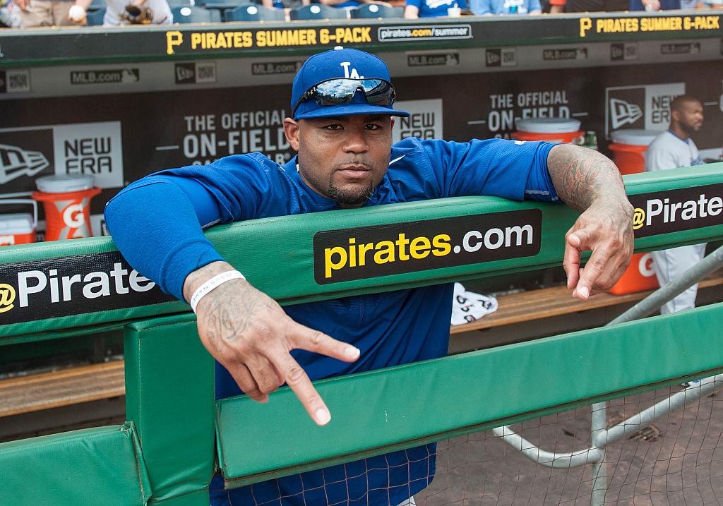 MLB: AUG 08 Dodgers at Pirates