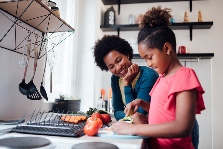 household chores learning experience, learning at home, life skills
