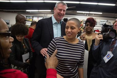 NYC Mayor Bill de Blasio attended the National Action...