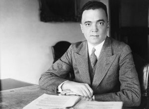 Portrait Of A Young J. Edgar Hoover