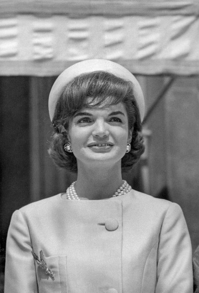 Portrait de Jacqueline Kennedy en 1961