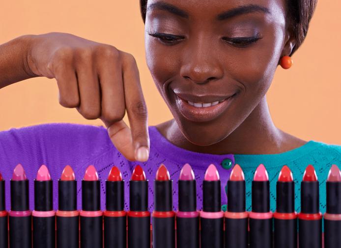 Choosing her color