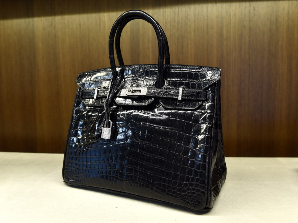 US-FRANCE-FASHION-LUXURY-BAGS-AUCTION