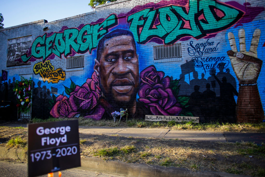 Protests Continue After The Death Of George Floyd, In Houston