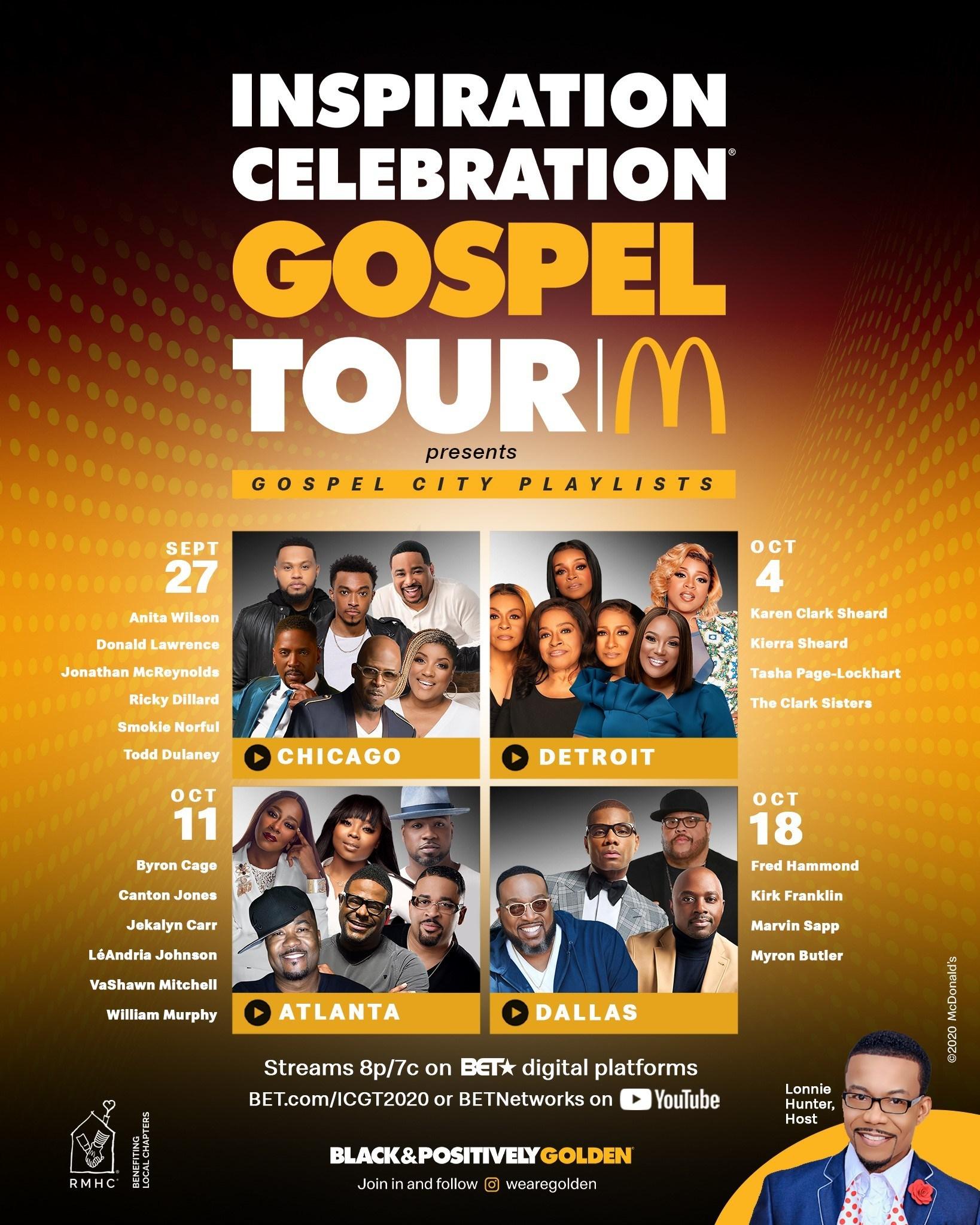 McDonald's Gospel Tour