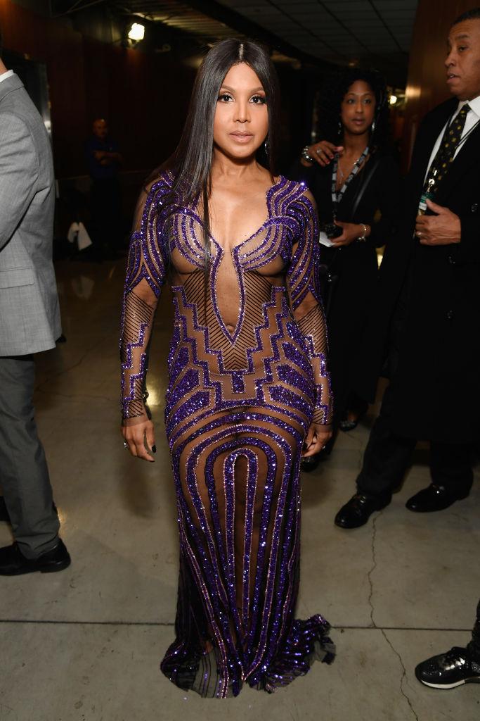 toni braxton dresses