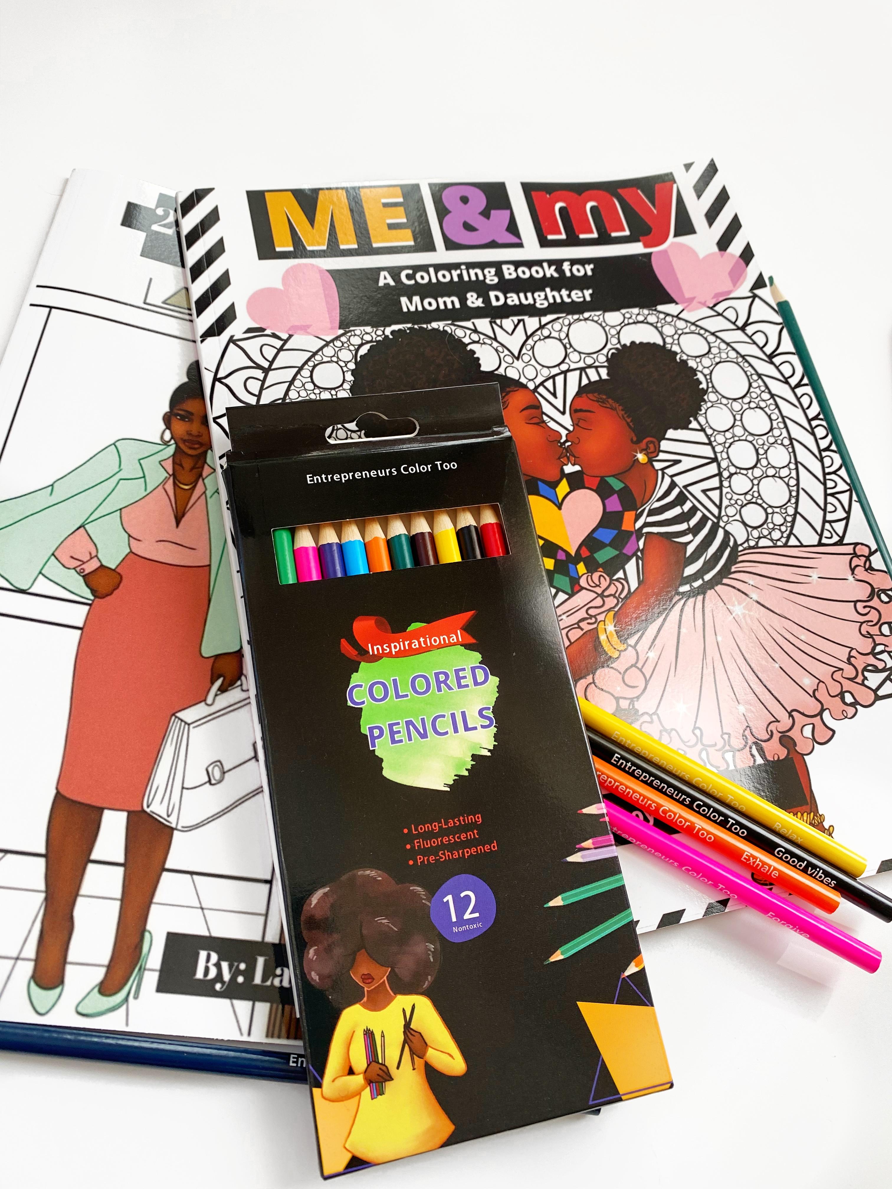 Latoya Nicole's Coloring Books & Pencils