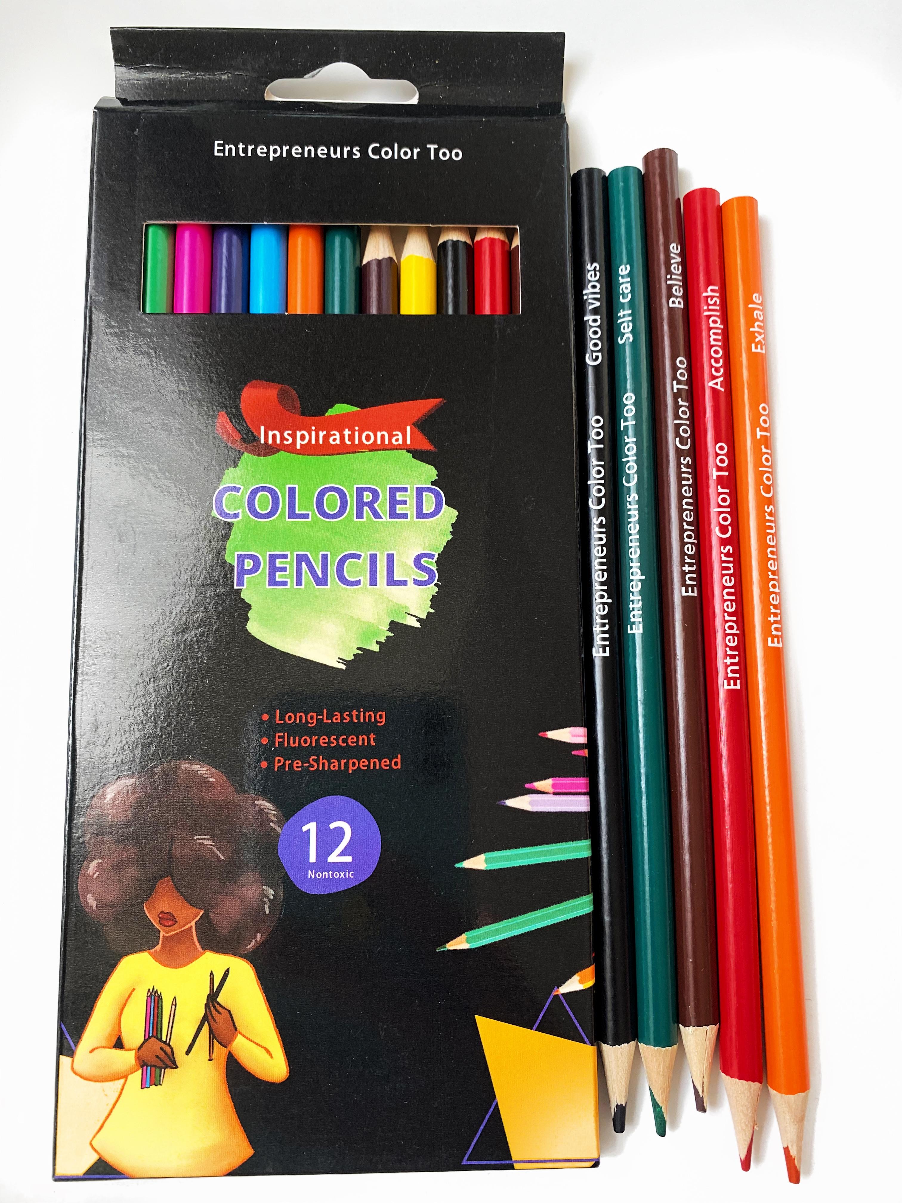inspirational colored pencils