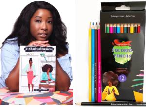 Latoya Nicole's Inspirational Colored Pencils
