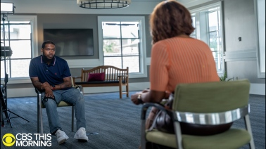 """Kenneth Walker """"CBS This Morning"""" Interview with Gayle King"""