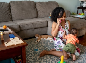 work from home stay at home mom