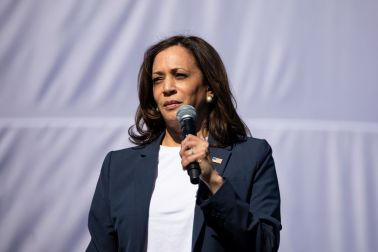 Democratic Vice Presidential Nominee Kamala Harris Campaigns In Fort Worth, Texas