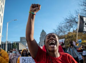 Detroit Activists March To Fight Trump From Stealing The Election