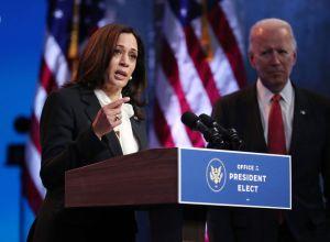 President-Elect Biden And VP-Elect Harris Deliver Remarks In Wilmington, DE