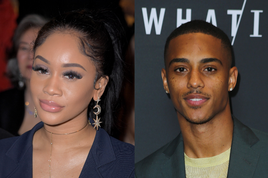 Saweetie and Keith Powers